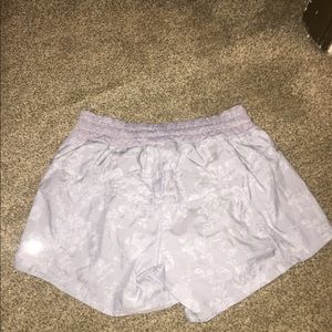 lululemon athletica Shorts - Very unique and rare Lulu gray shorts